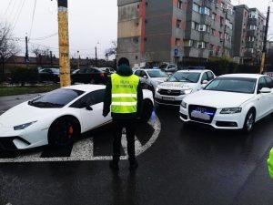 Tulcean găsit în Constanța cu un Lamborghini Huracan căutat în Germania