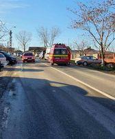 Copil de 3 ani rănit într-un accident rutier
