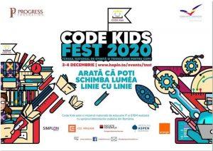 Azi începe CODE KIDS FEST 2020