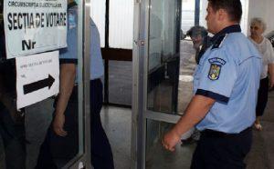 Forţele de ordine pregătite pentru procesul electoral de mâine
