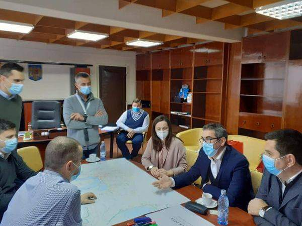 Cel mai mare angajator din municipiu, întâlnire de lucru cu autoritățile locale