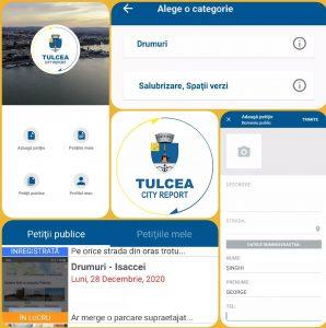 Peste 600 de petiții înscrise în aplicația Tulcea City Report