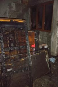 Incendiu la o casa din municipiu, noaptea trecută