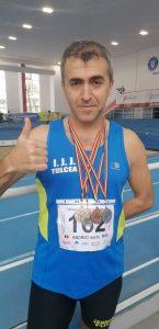 5 medalii aduse la Tulcea de jandarmul Sorin Andrici