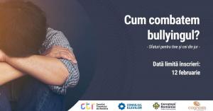Duminica, de Sf. Valentin, se va vorbi despre bullying – eveniment online