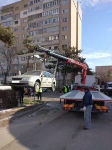 Atenție!!! Se ridică mașinile abandonate