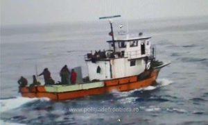 Pescador turcesc depistat în zona economică exclusivă a României