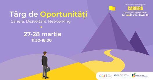 """Tinerii tulceni sunt invitați la un """"târg de oportunități"""" online"""