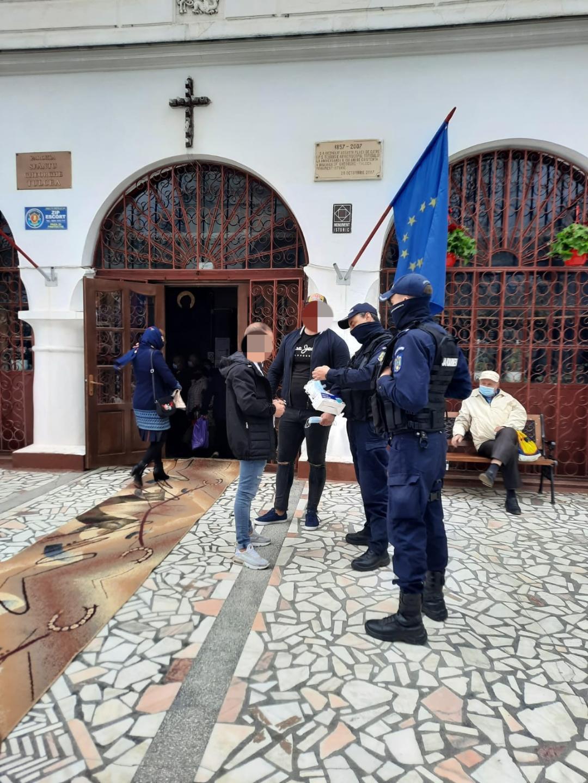Sărbătorirea hramului Bisericii Sf. Gheorghe supravegheată de jandarmii tulceni