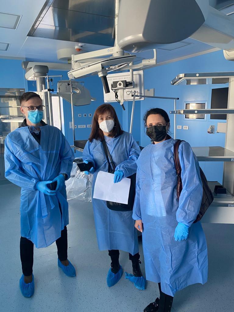 Vizită la Spitalul Județean Tulcea
