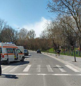 Copil de 11 ani lovit pe trecerea de pietoni în municipiu