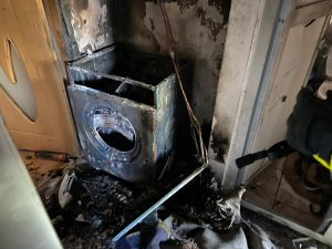 Explozie într-un apartament din cartierul 23 August