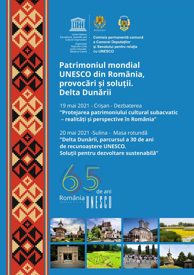 Se împlinesc  65 de ani de când România a aderat la UNESCO