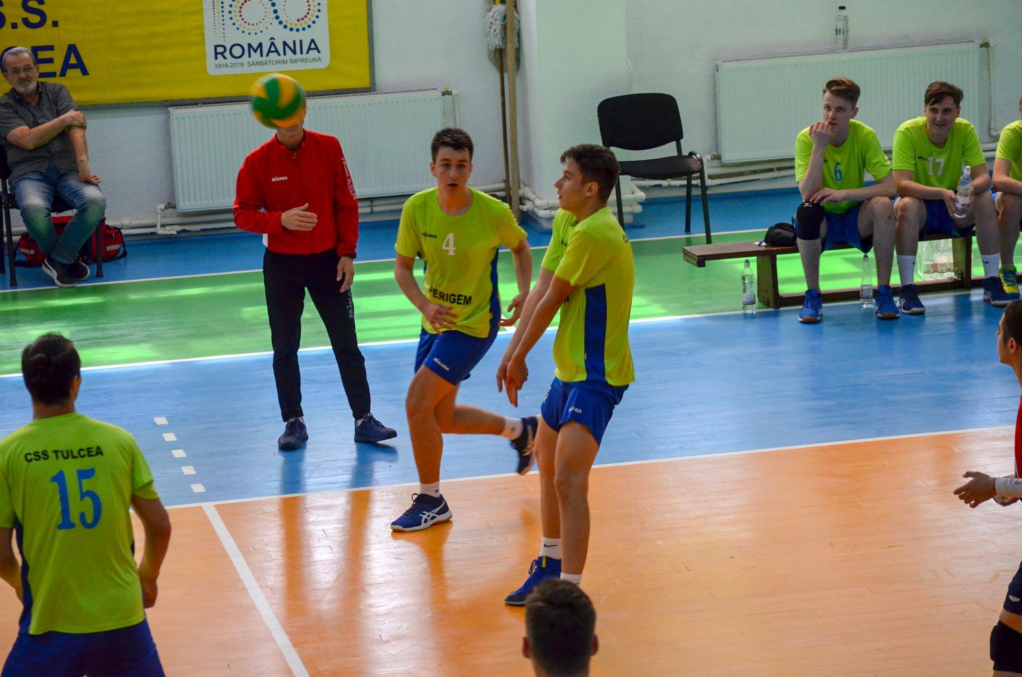 Începe finala Campionatului Național de Volei masculin-cadeți!