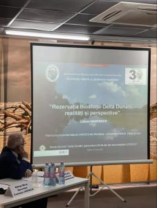 """Dezbateri  la Sulina pe tema """"Delta Dunării, parcursul a 30 de ani de recunoaștere UNESCO"""""""