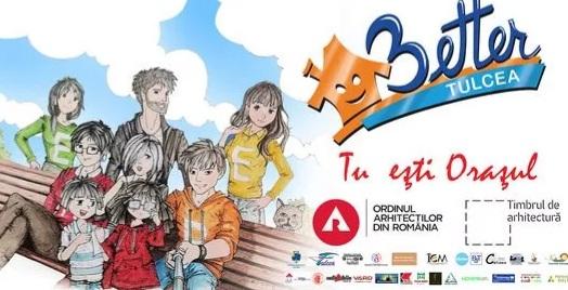 În 5 zile se lansează oficial proiectul Better Tulcea