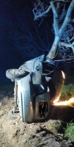 Tânără de 19 ani decedată în urma unui accident rutier. Șoferul era băut