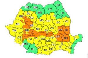 Ploaie și vreme urâtă până mâine la Tulcea