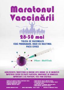 Maraton de vaccinare și la Tulcea