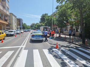 O femeie a fost lovita de mașină pe strada Isaccei, în Piața Veche