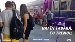 Tulcenii nu merg cu trenul în vacanțe!