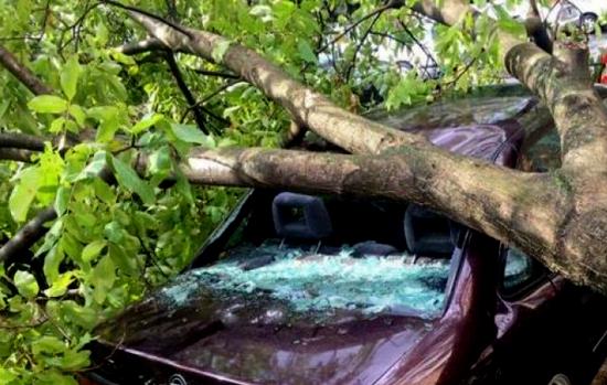 Mașini avariate de furtună: Chiar dacă nu au CASCO, proprietarii de mașini pot primi bani pentru reparația lor
