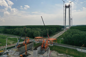 Guvernul decide azi în legătură cu exproprierile pentru Podul suspendat peste Dunăre