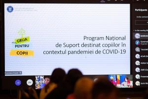 """""""DIN GRIJĂ PENTRU COPII"""" – un program național în context Covid-19"""