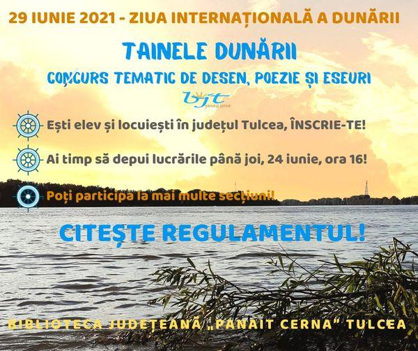 Ziua Dunării sărbătorită la Tulcea printr-un concurs tematic