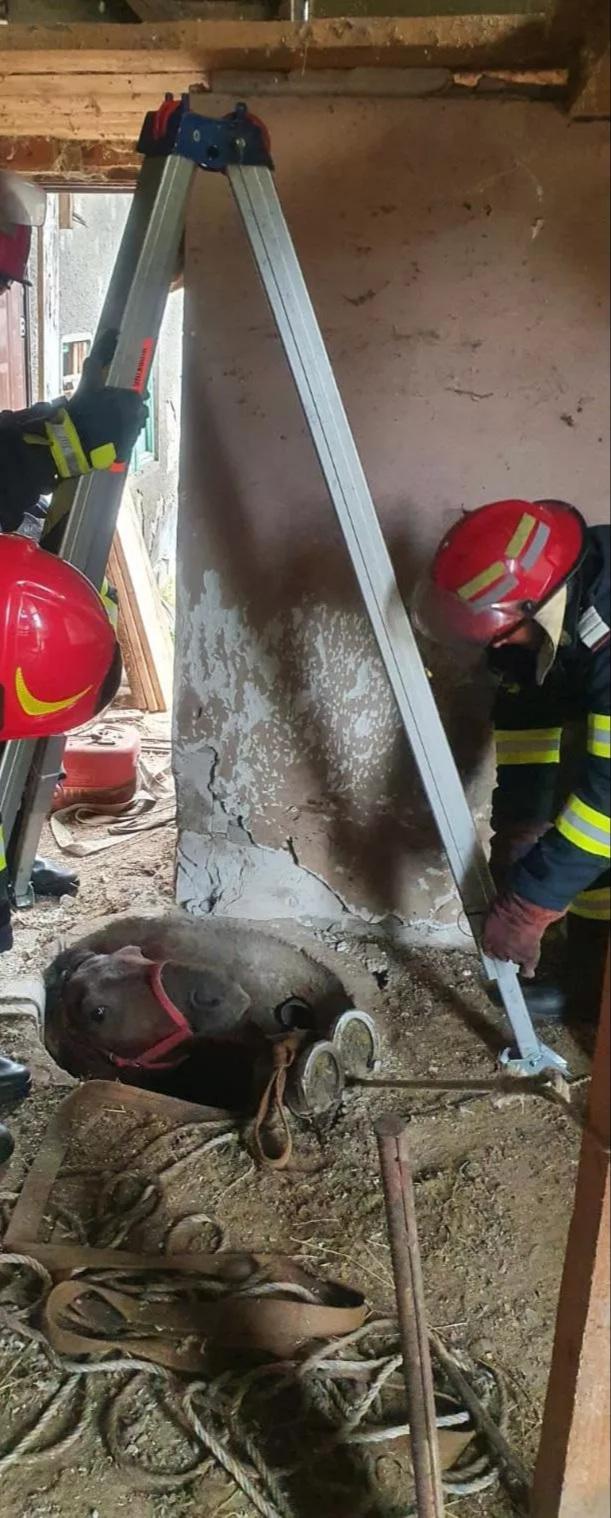 O nouă intervenţie reușită a pompierilor măcineni