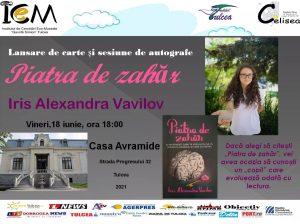 """""""PIATRA DE ZAHĂR"""", prima carte a unei adolescente din Tulcea"""