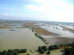 Tulcea este printre judeţele cele mai afectate de inundaţii