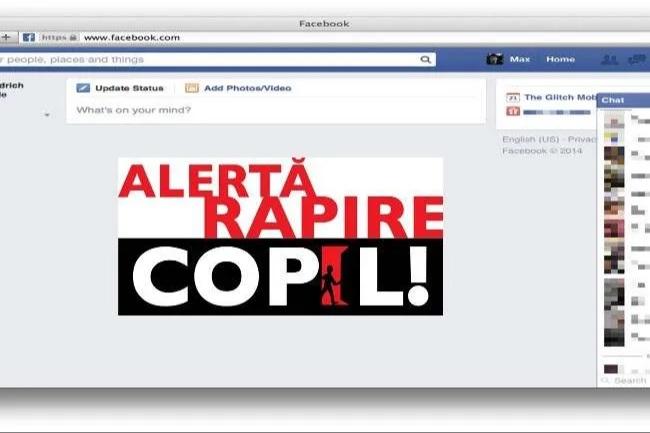 Colaborare între Poliția Română si Facebook pentru copiii dispăruți sau răpiți