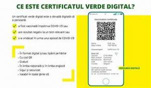 Ordonanţa privind certificatul verde pentru COVID a fost aprobată