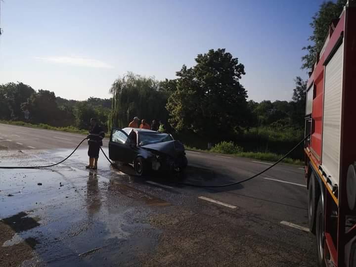 Accident în Somova