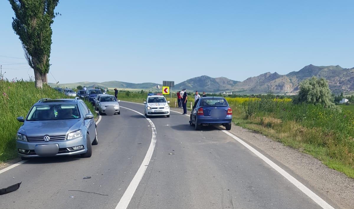Accident lângă Măcin, un bărbat a fost preluat de un elicopter SMURD