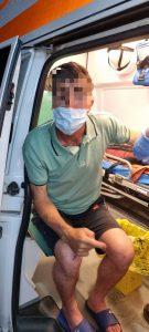 Tentativă de suicid oprită de jandarmii tulceni