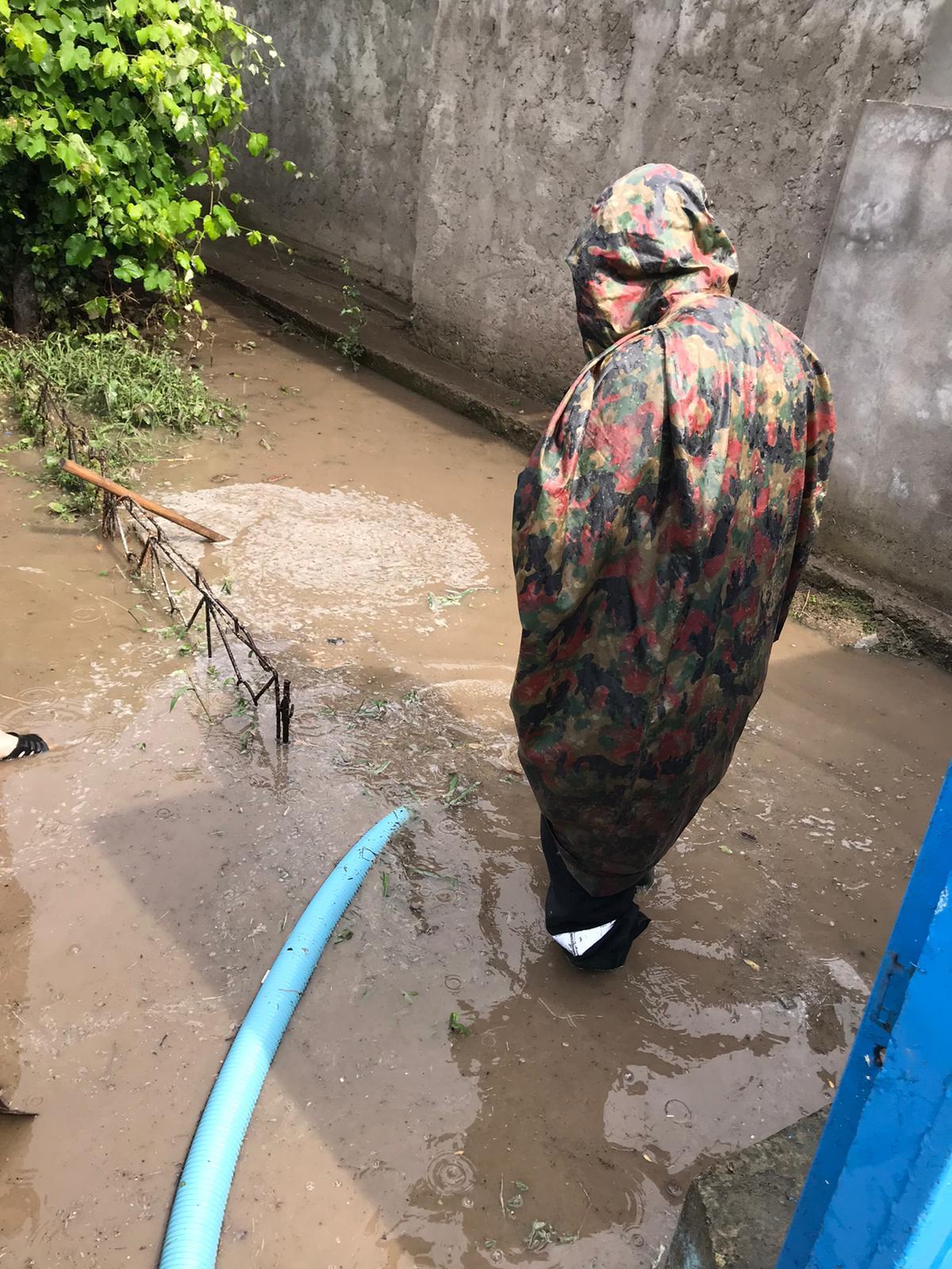 Patru gospodării din Măcin au avut nevoie de intervenția pompierilor