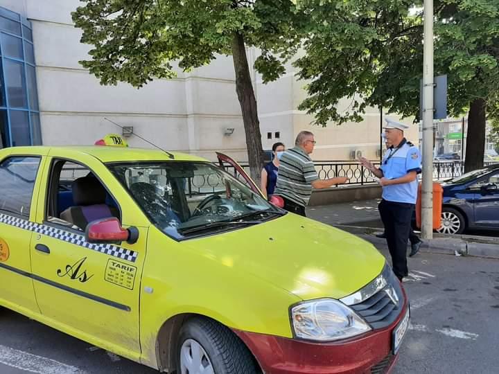 Taximetriști amendați de Poliția Locală!