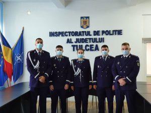 Șase polițiști noi la IPJ Tulcea
