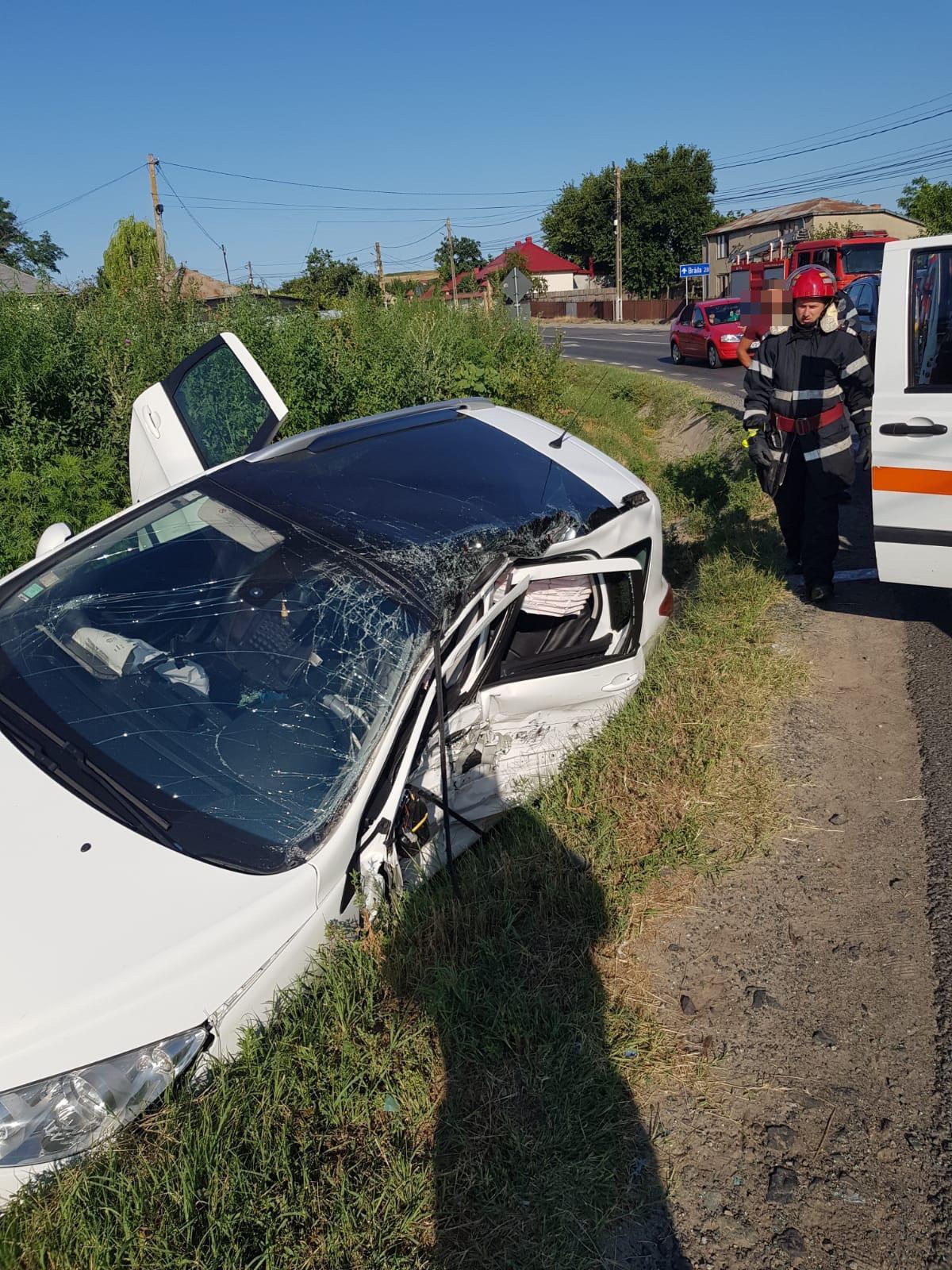 Accident la Garvăn cu patru victime!
