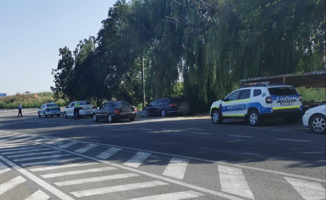 În doar o zi, 74 de vitezomani prinși pe drumurile din Tulcea!