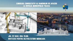 Dezvoltatorii imobiliari din Tulcea, chemați la Primărie!