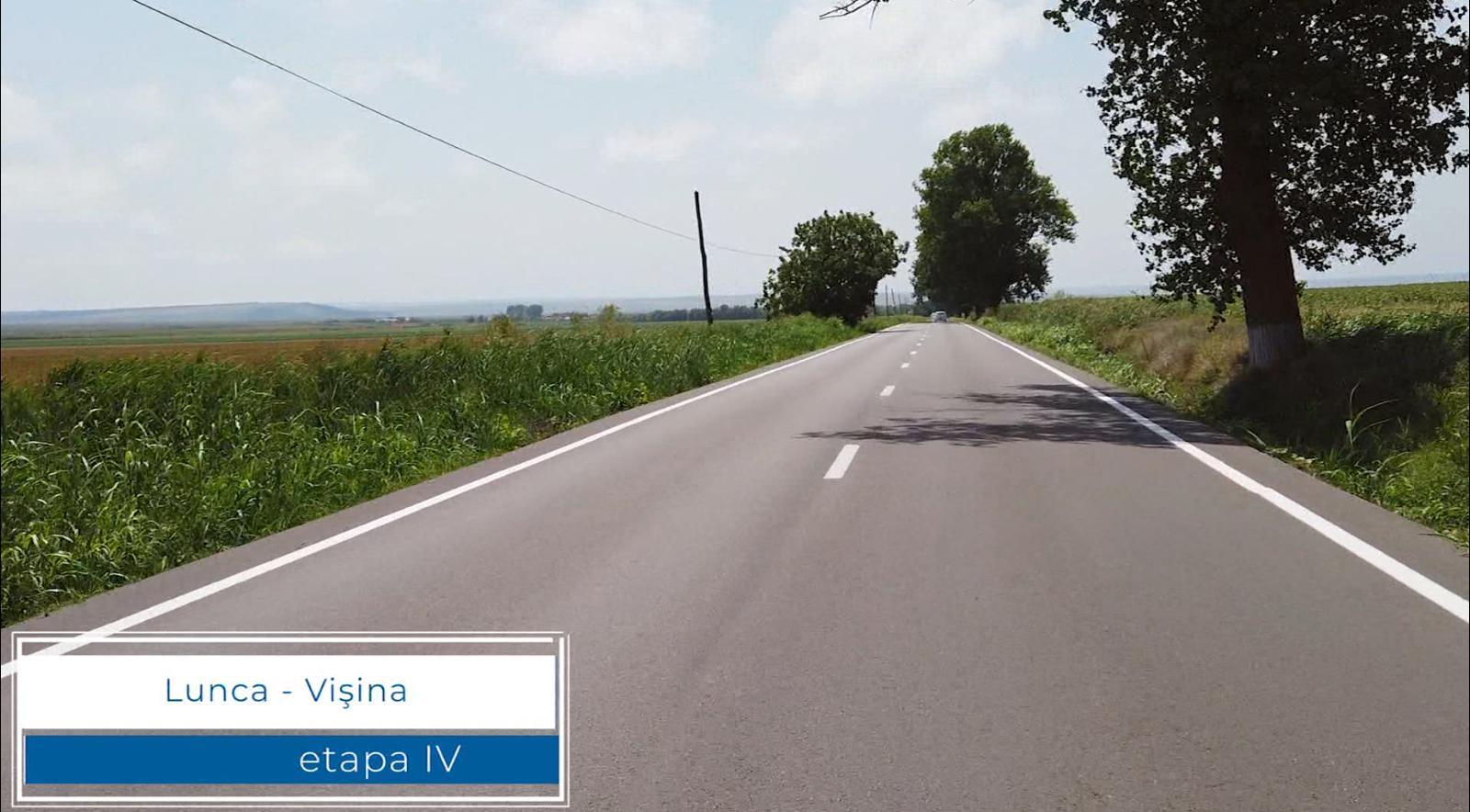 A fost finalizată modernizarea traseului Vișina – Ceamurlia de sus!