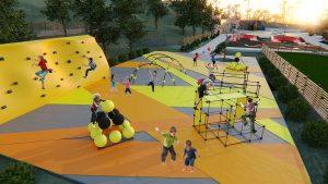 Parcul de sporturi extreme din Tulcea, în faza de execuție!