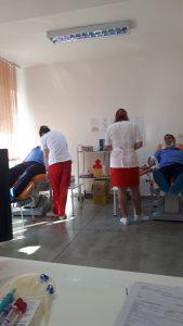 Jandarmii tulceni au donat sânge!
