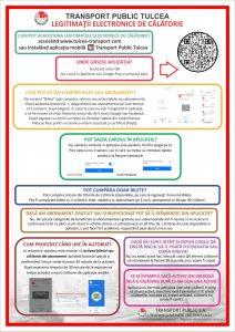 STP Tulcea și-a deschis aplicație cu legitimații electronice de călătorie!