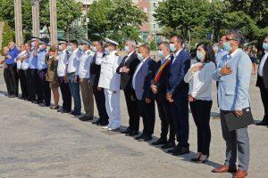 Ziua Imnului Național, cinstită în Piața Civică