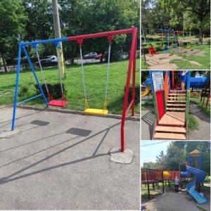 Primăria renovează parcurile din municipiu!