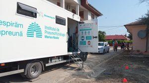Caravana de testare a plămânilor a ajuns în Deltă!
